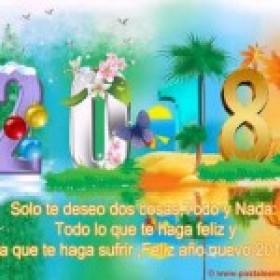 Video Tarjetas Animadas Feliz Año 2018