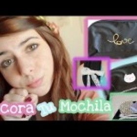 Back To School: Decora tu Mochila! ~DIY~ ♥ Ronro Love