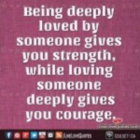 Being deeply in love quotes