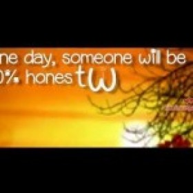 Love Quotes ♥ | One day, someone will be 100% honest with you..