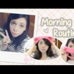 Morning Routine 2014 ~ Preparándome para ir a clase ♥ Ronro Love