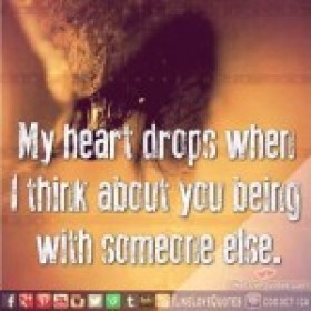 My heart drops quotes