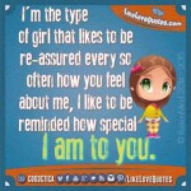 I'm the type of girl